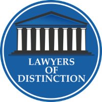 lawyers of distinction emblem